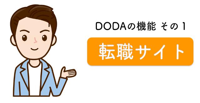 dodaの機能その1